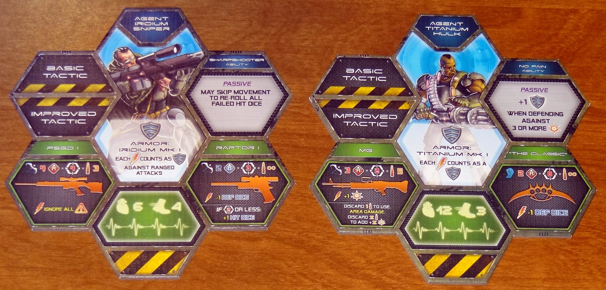 Galaxy Defenders agents