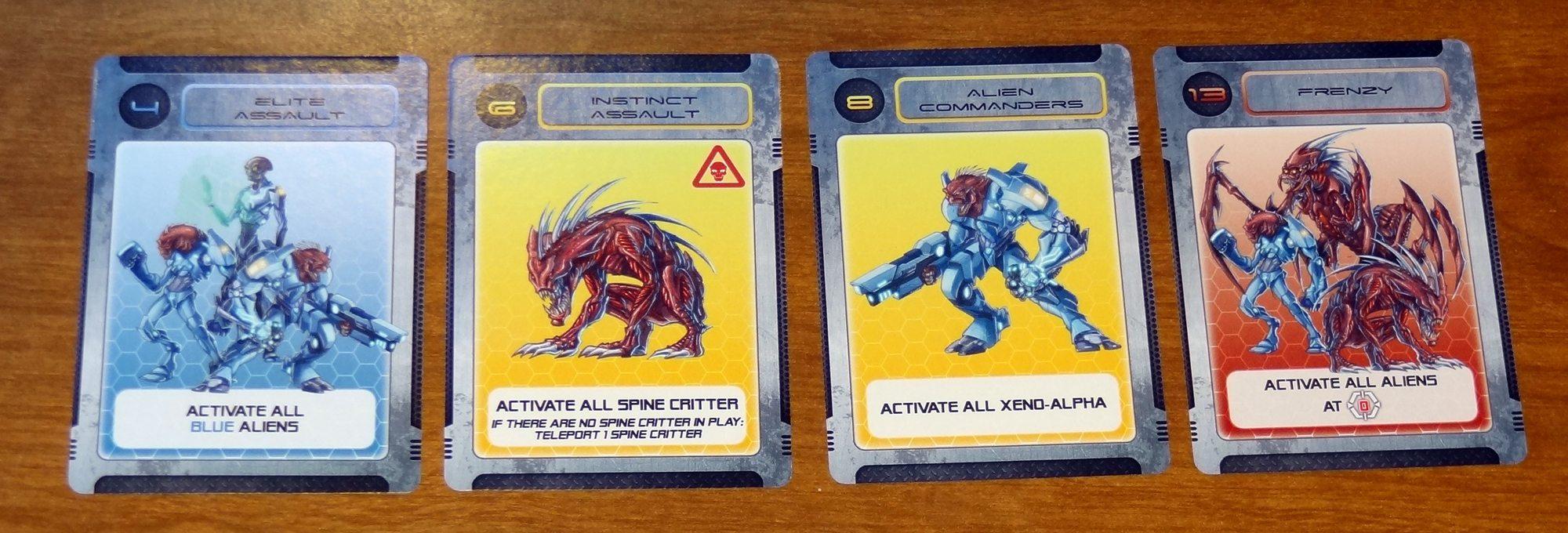 Galaxy Defenders Close Encounters cards