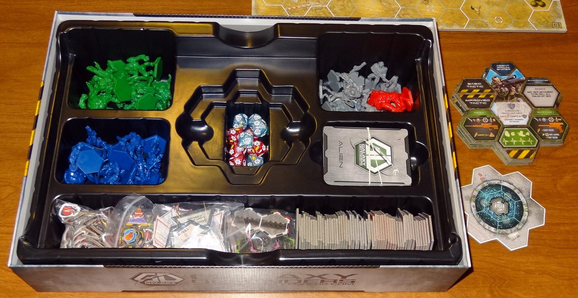 Galaxy Defenders box