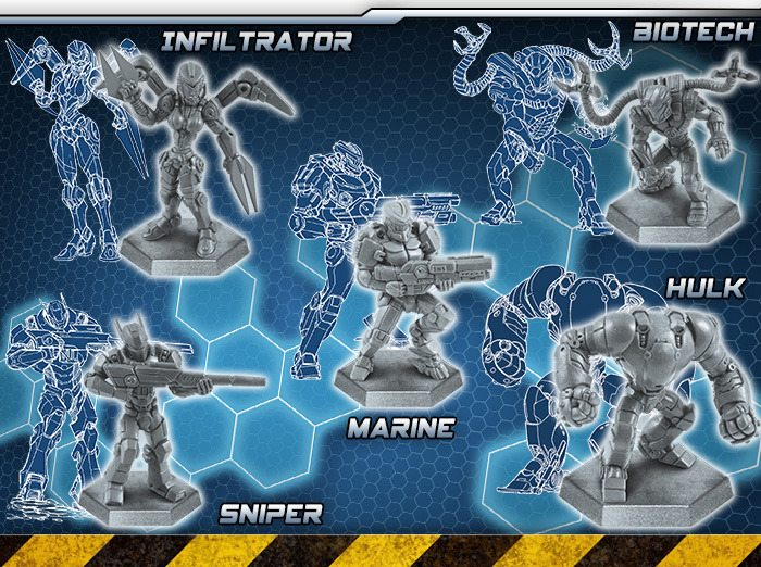 Galaxy Defenders expansion figures