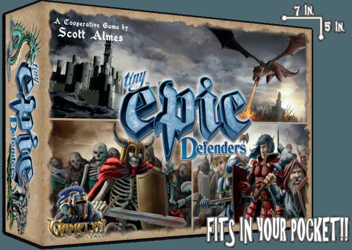 Tiny Epic Defenders - box