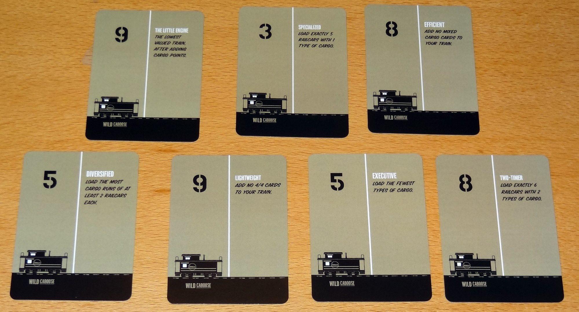 Yardmaster Express Caboose cards
