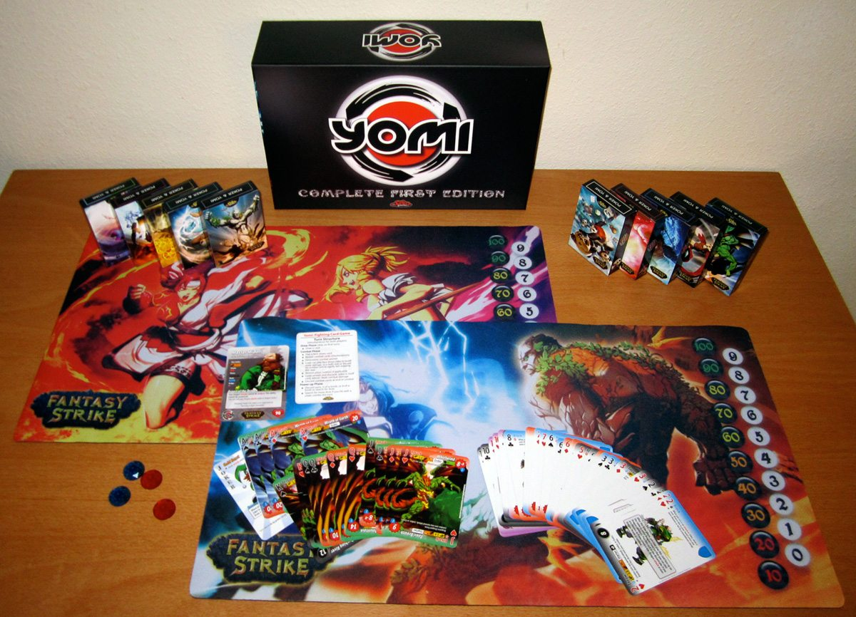 Yomi First Edition components