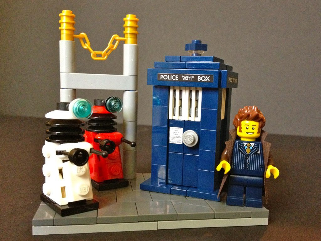 Doctor Who. Image credit: Flickr user Pellaeon, CC by 2.0
