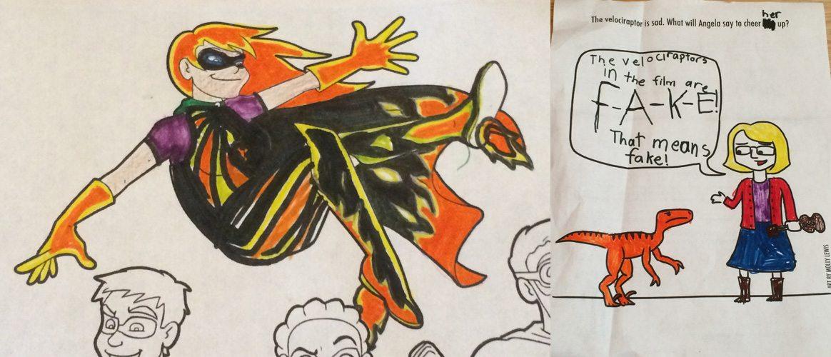 Doubleclicks coloring book