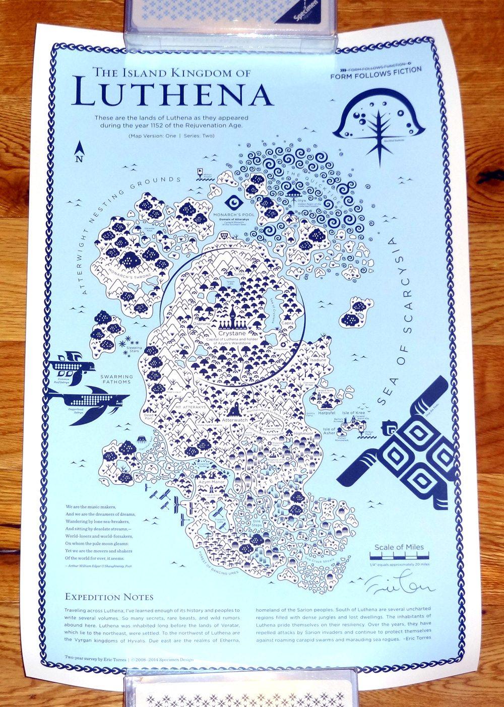 Luthena map