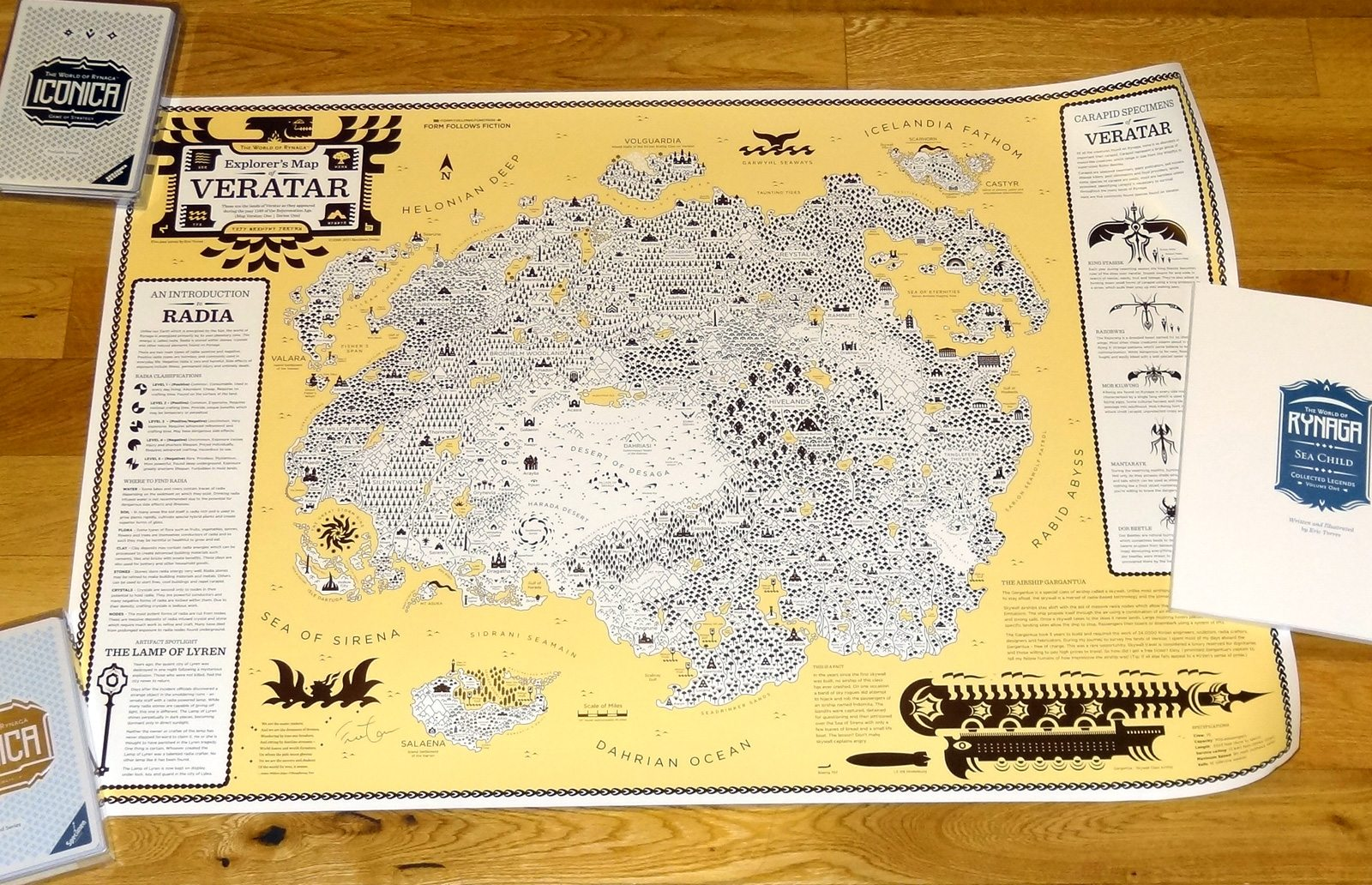 World of Rynaga - Veratar Map