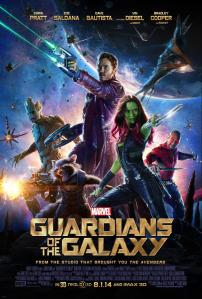Guardians of the Galaxy second poster