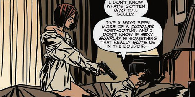A Panel from The X-Files Season 10 #14 © IDW