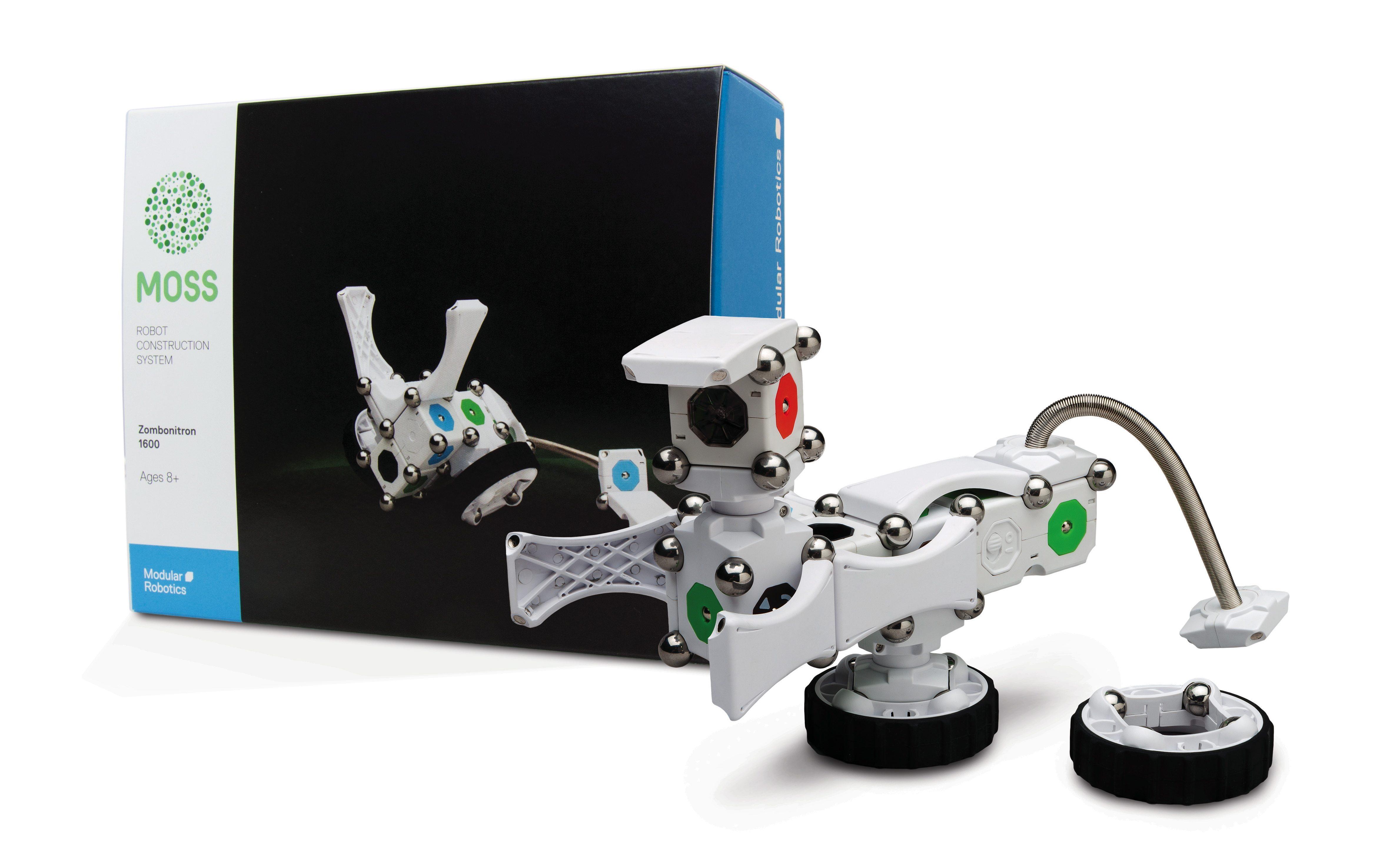 MOSS Zombonitron Kit. Photo credit: Modular Robotics