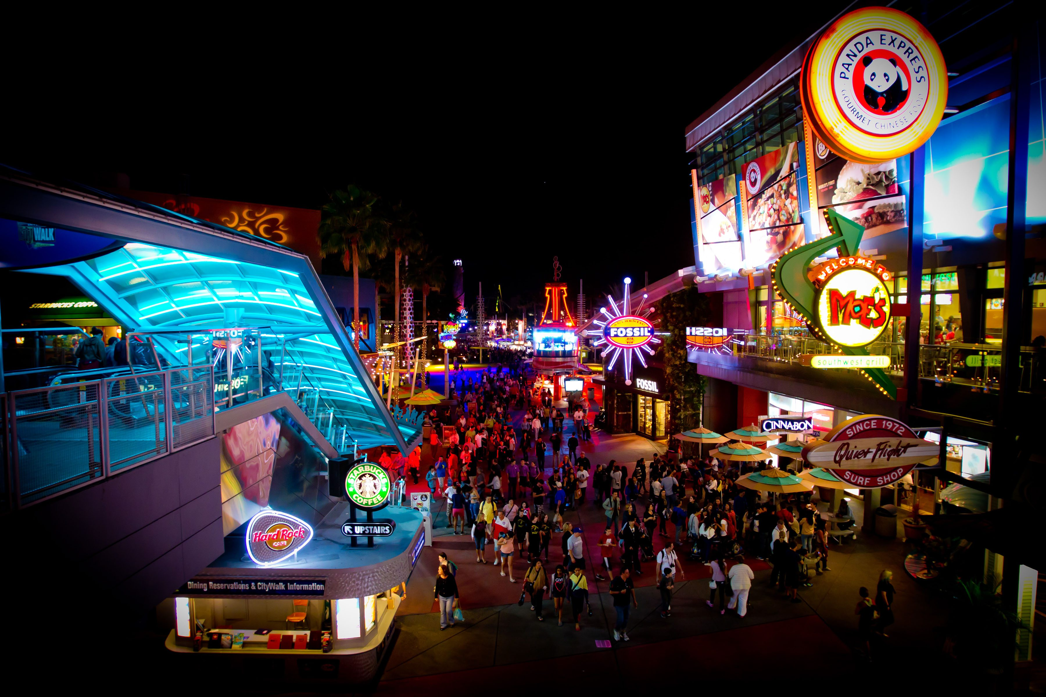 Universal CityWalk  Image courtesy of Universal Orlando