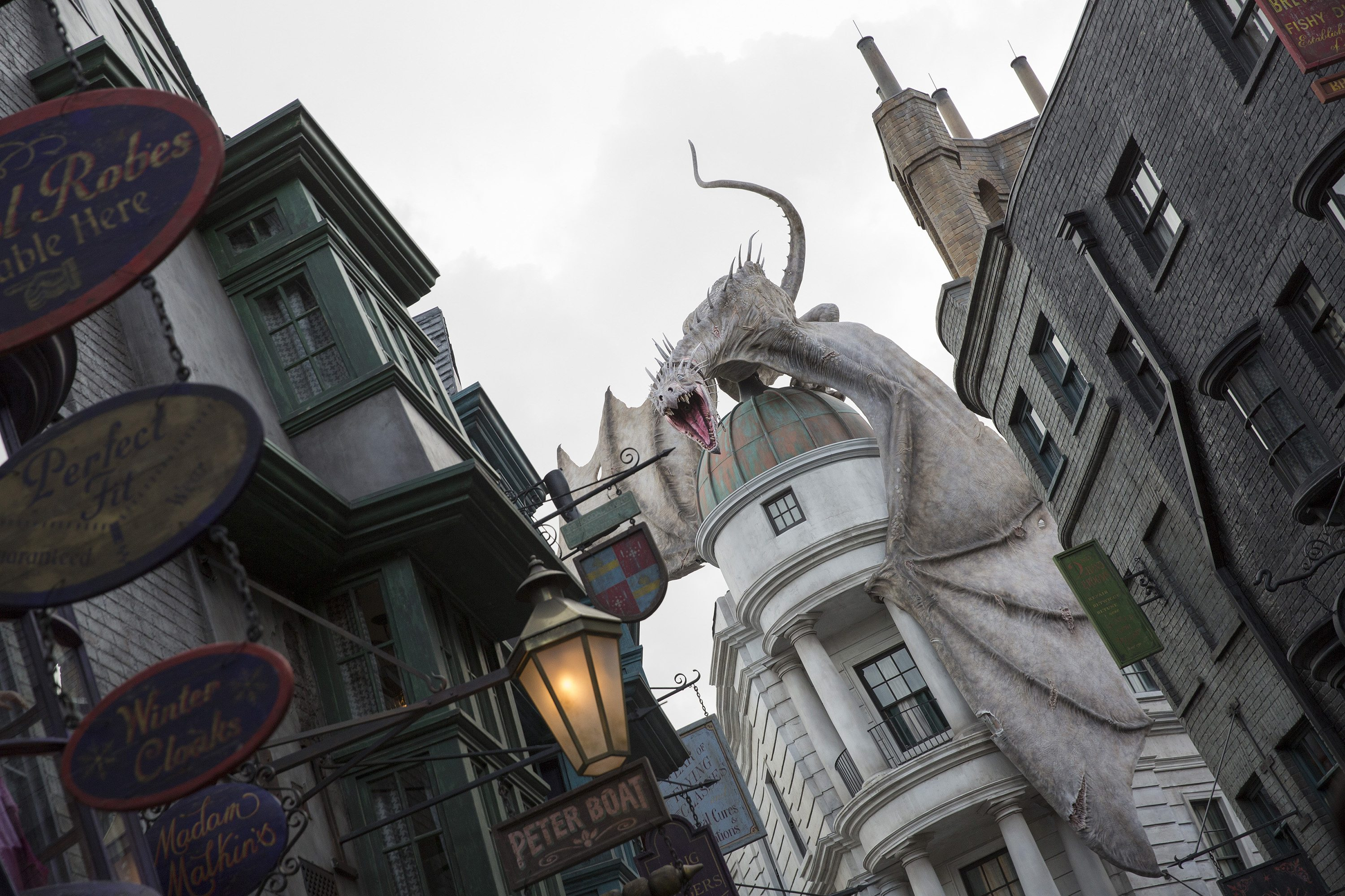 Diagon Alley  Image courtesy of Universal Orlando