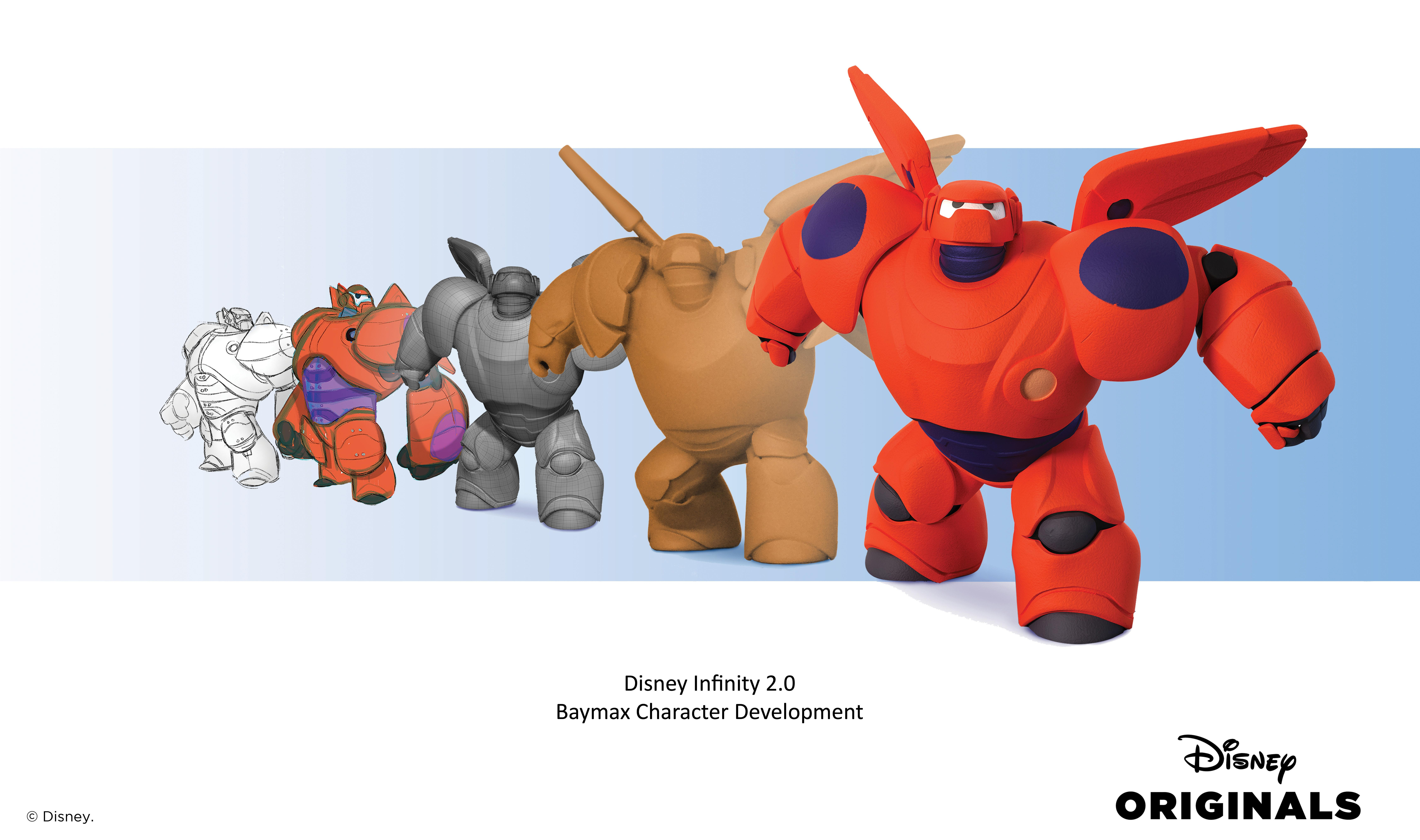 Big Hero 6 Character Desgin