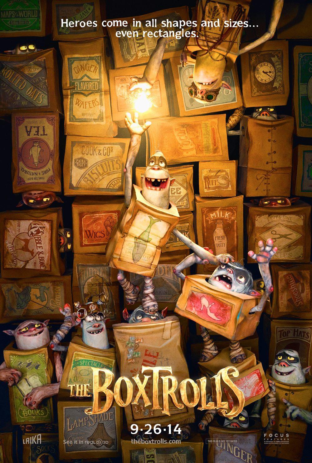 Boxtrolls teaser poster