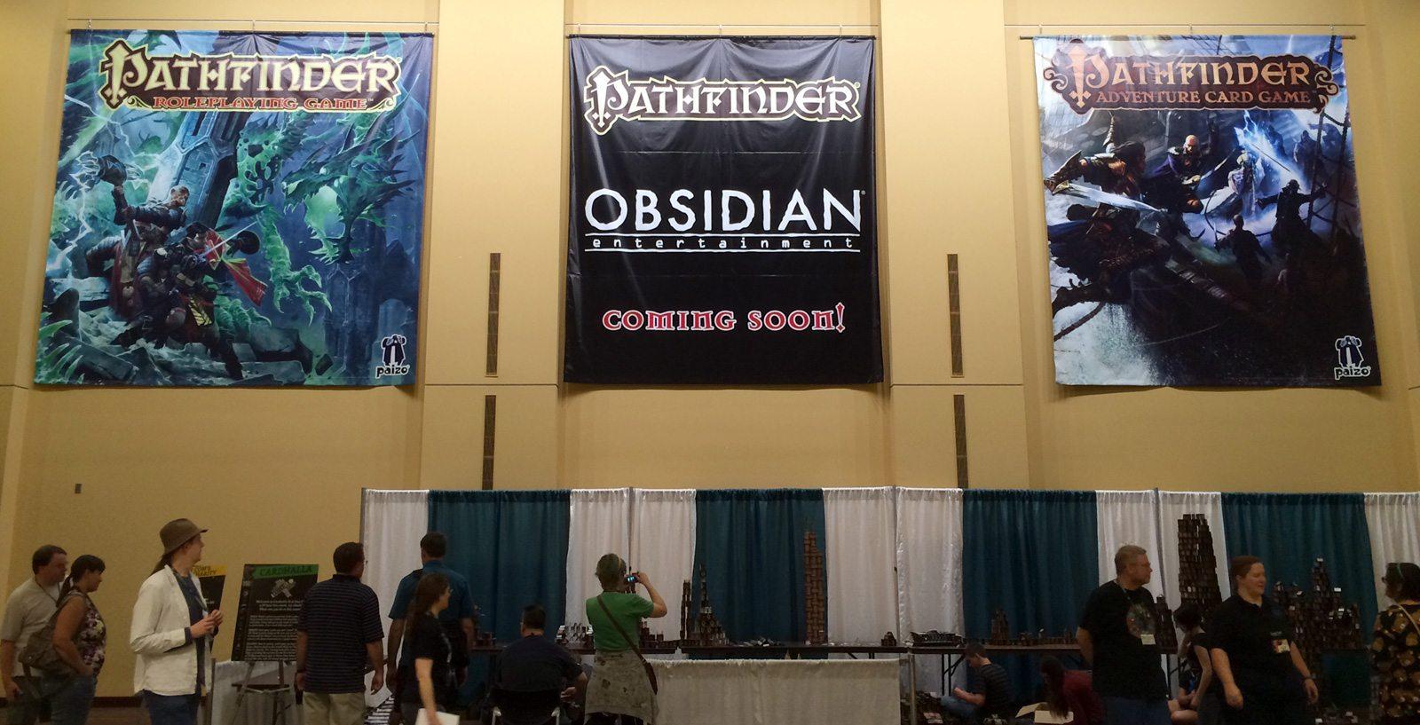 Obsidian Pathfinder banner