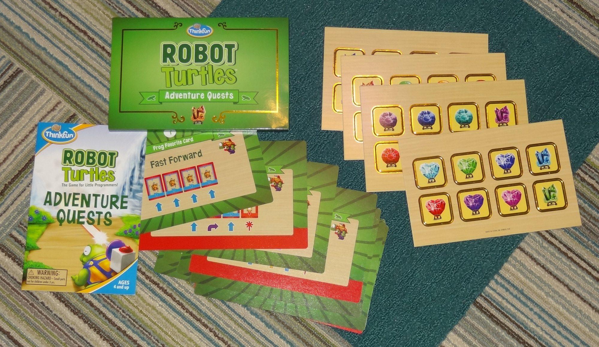Robot Turtles Adventure Quests