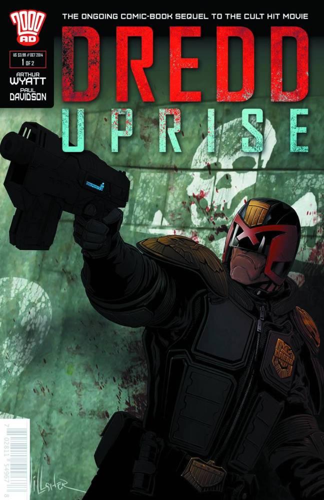 Dredd: Uprise #1 Cover