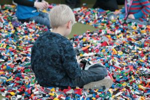 Free play in the Brick Pit