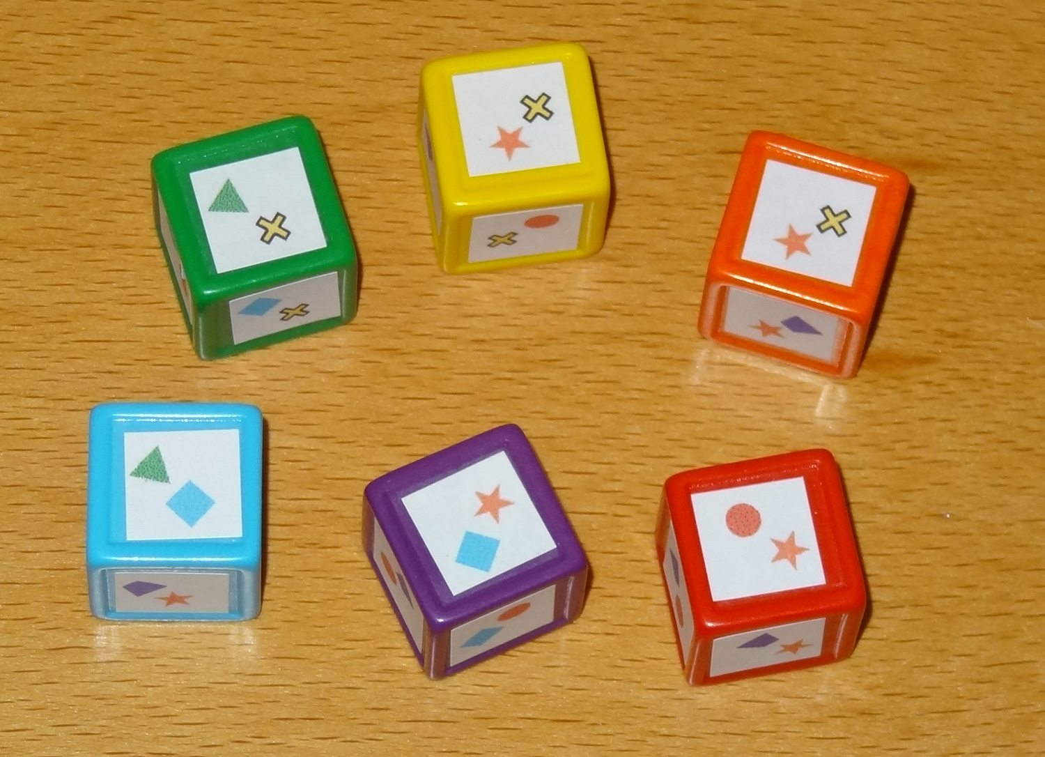 Chroma Cubes dice