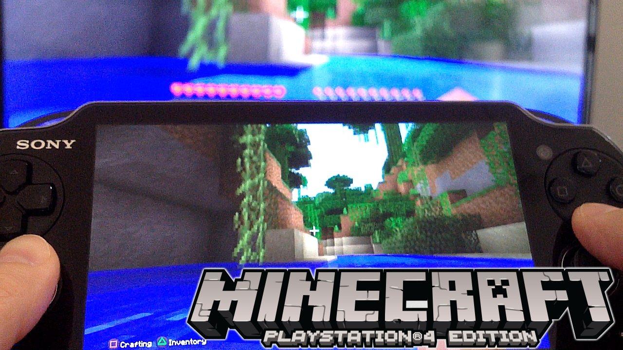 Minecraft Vita Remote Play