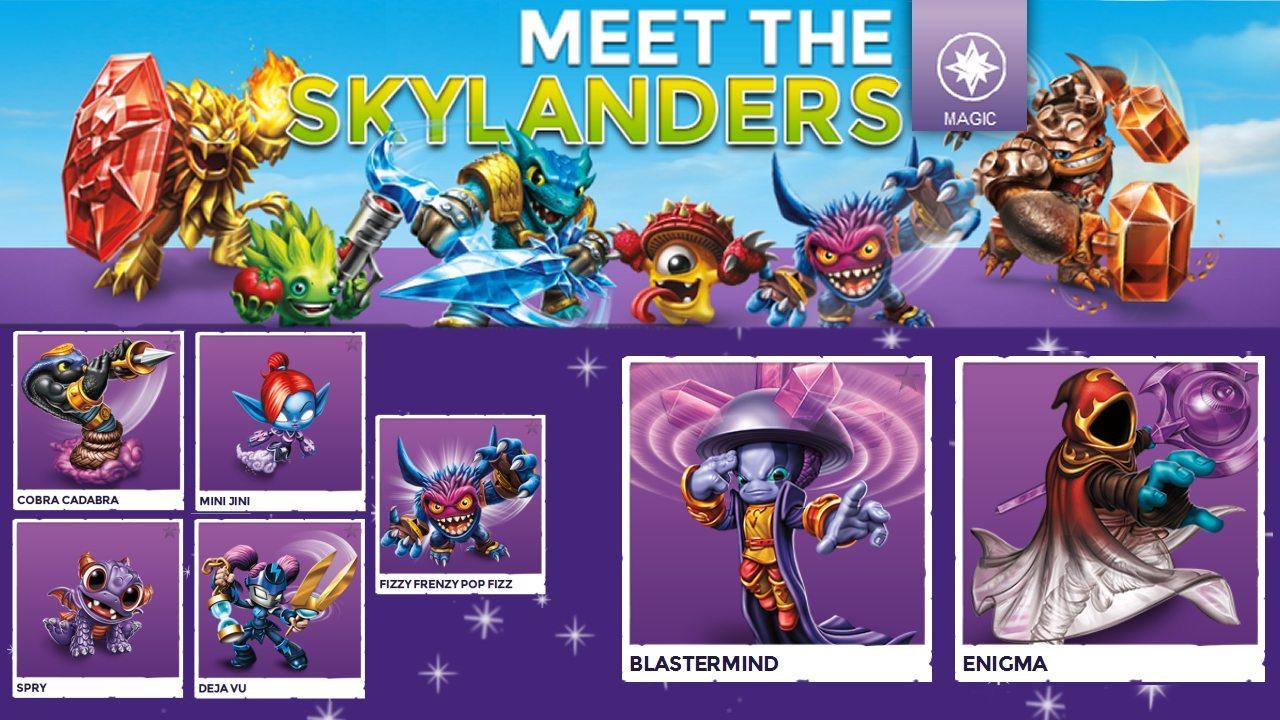 Magic Skylanders For Trap Team