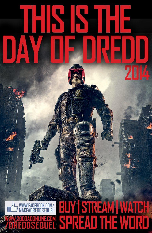 Make A Dredd Sequel's #DayOfDredd