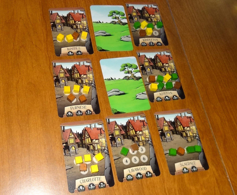 Dragonflame villages