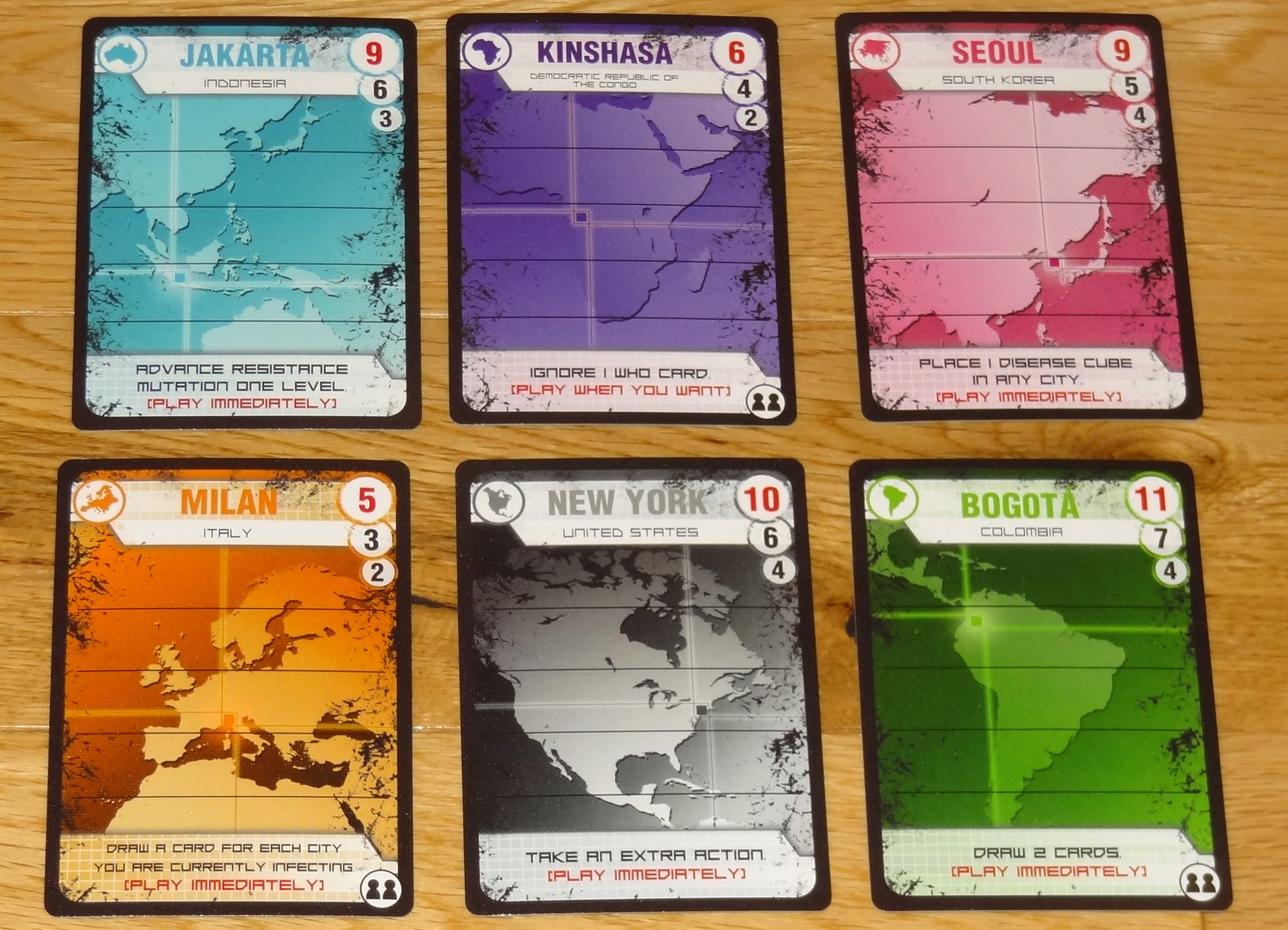 Pandemic Contagion cities