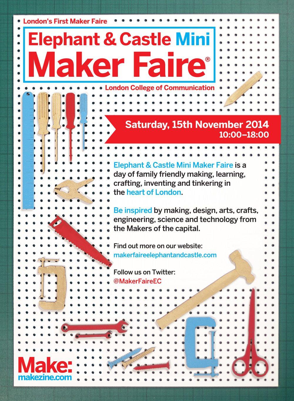 Mini Maker Faire Poster