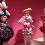 """That's some fancy Hello Kitty fashion at the """"Hello!"""" exhibit at the JANM museum. Photo credit: Ariane Coffin."""