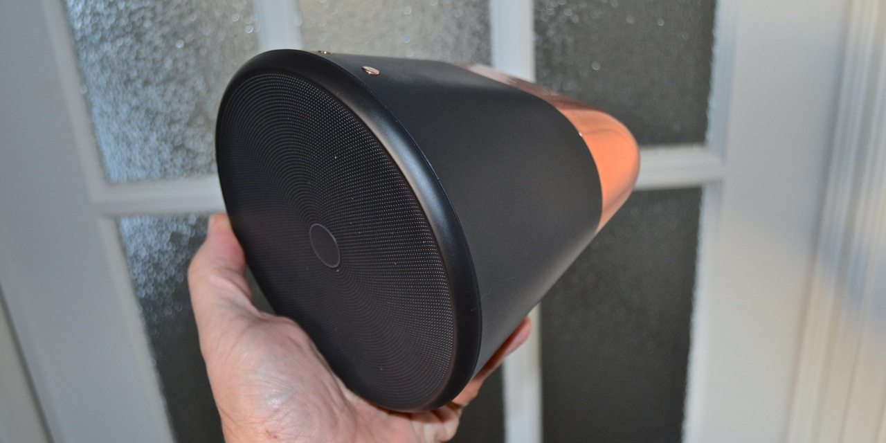 Aether Cone speaker is portable