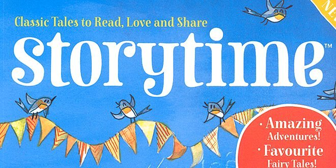 Storytime Magazine © Sophie Brown