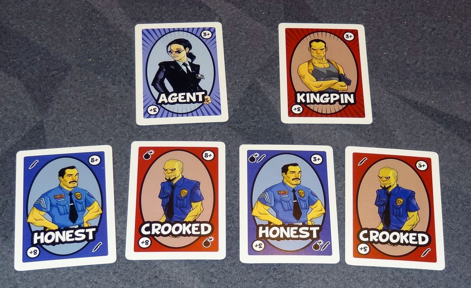 Bombers and Traitors integrity cards