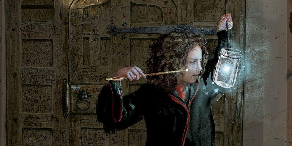 Hermione Granger by Jim Kay