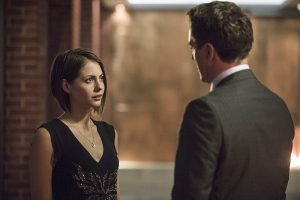 "Arrow -- ""The Secret Origin of Felicity Smoak"" -- Image AR305b_0260b -- Pictured (L-R): Willa Holland as Thea Queen and John Barrowman as Malcolm Merlyn -- Photo: Cate Cameron/The CW -- �© 2014 The CW Network, LLC. All Rights Reserved."