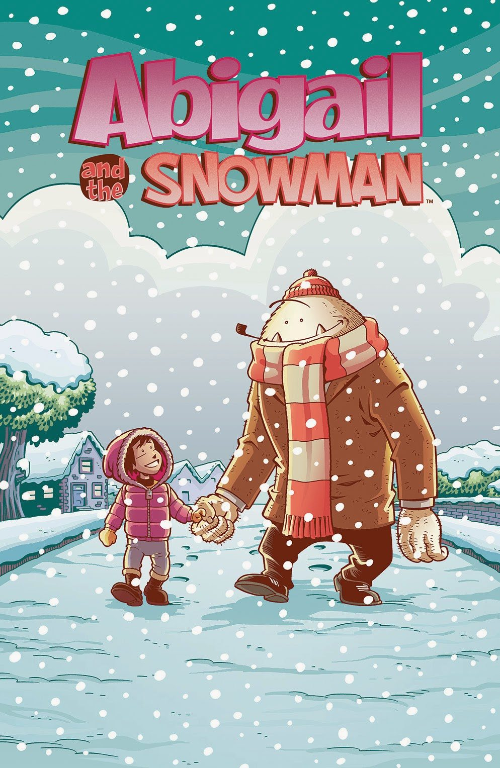 Abigail and the Snowman  Image Copyright Kaboom!