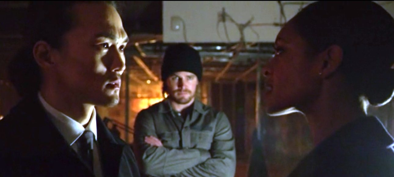 "Source: Arrow episode 310 ""Left Behind"""