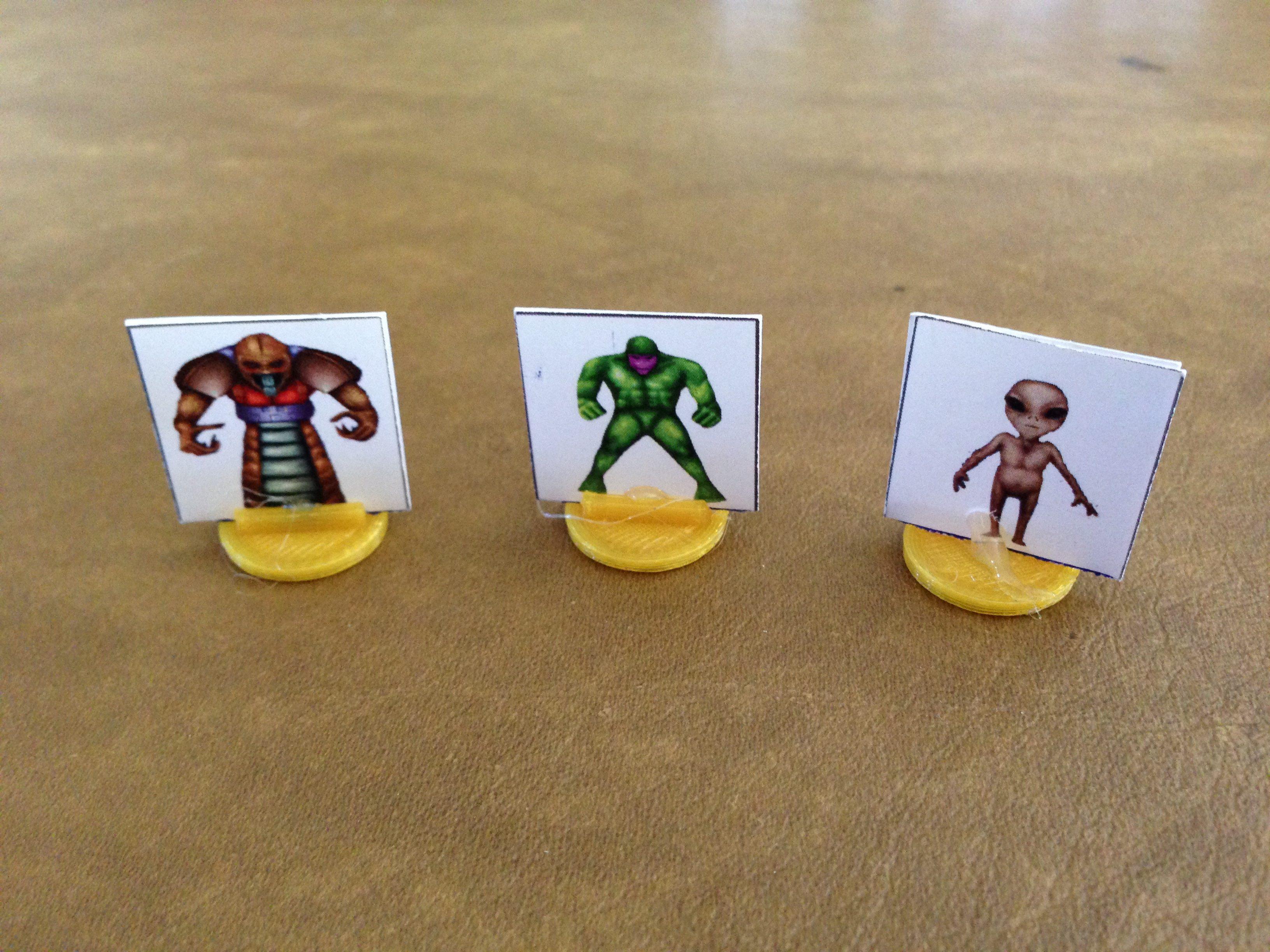 Three Aliens