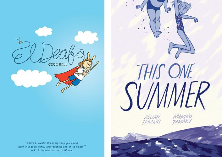 El Deafo, This One Summer