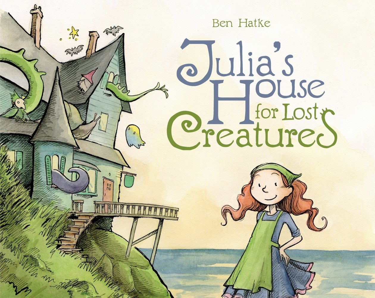 Julia's House for Lost Creatures. Image credit: First Second