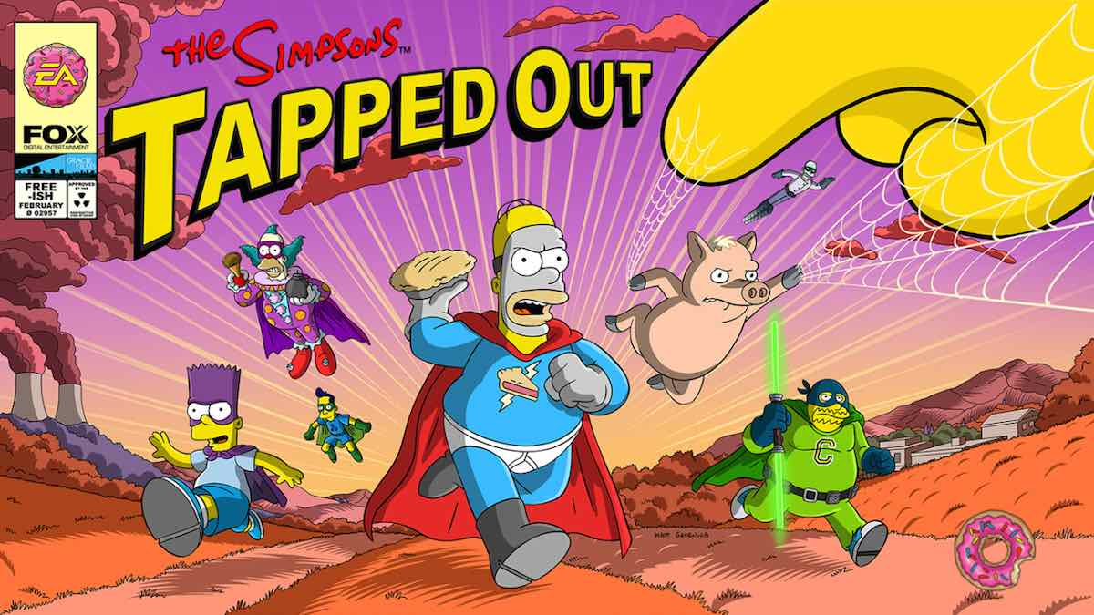 The Simpsons: Tapped Out comic book update