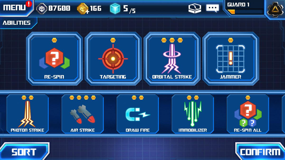 My current Abilities configuration