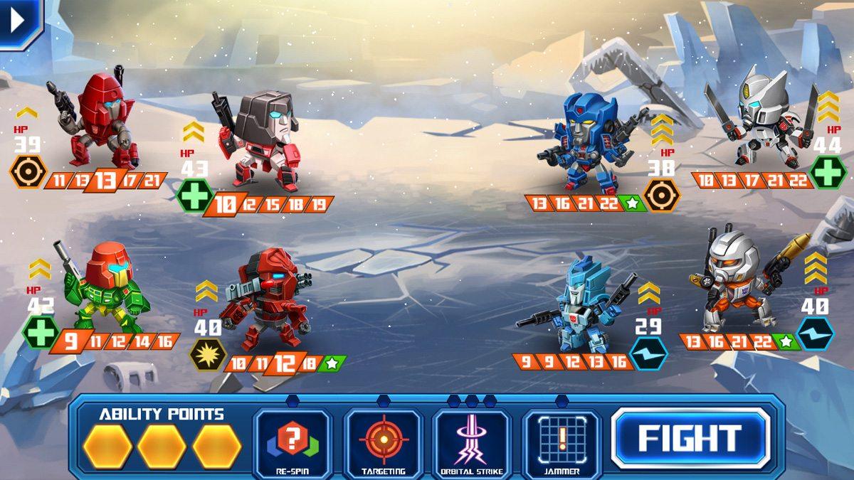 My team versus a bot team
