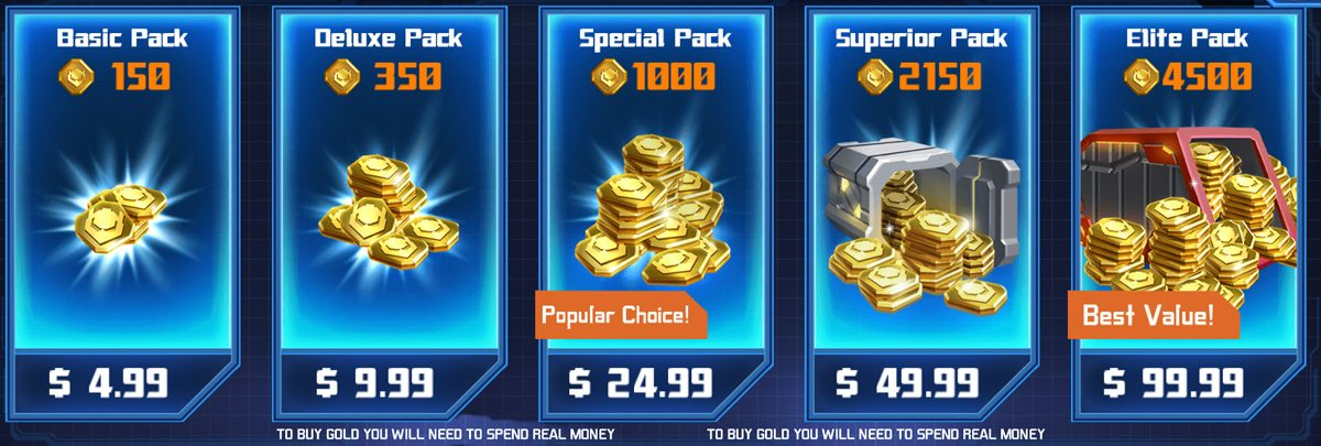 Coins get costly very quickly