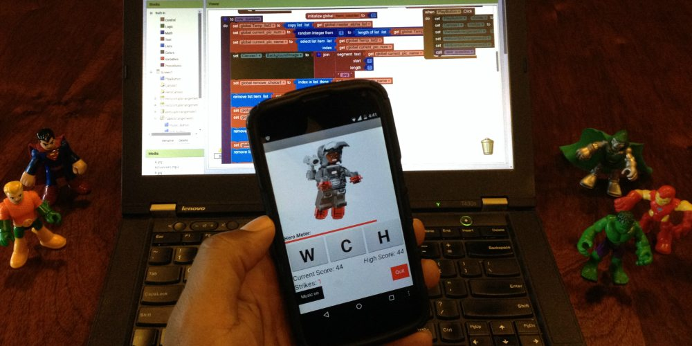 Working with MIT App Inventor