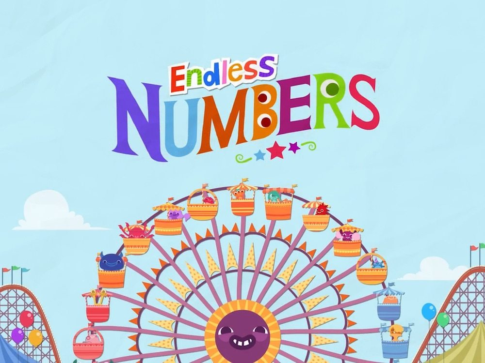 Endless Numbers splash screen