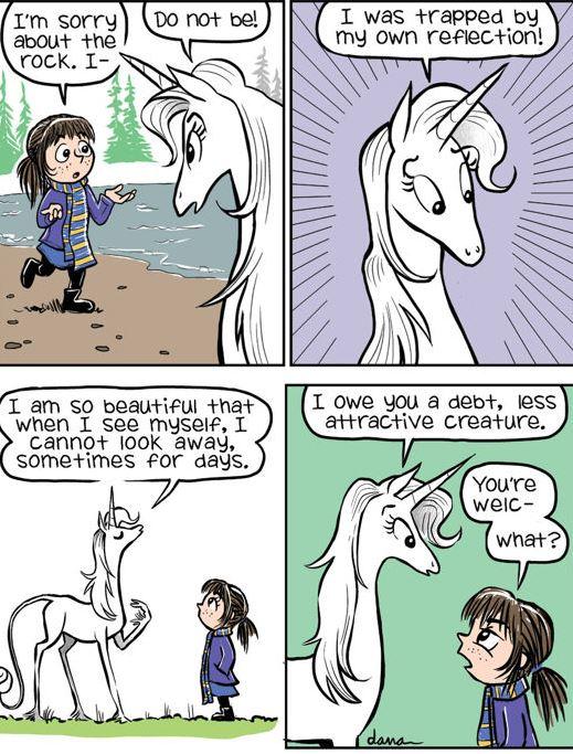 I cannot stress the arrogance enough. Source: GoComics.com