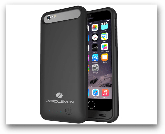 The ZeroLemon Slim Juicer 3100mAh Battery Case