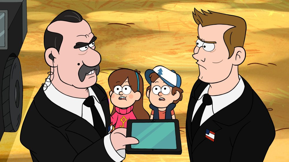 AGENT POWERS, MABEL, DIPPER, AGENT TRIGGER