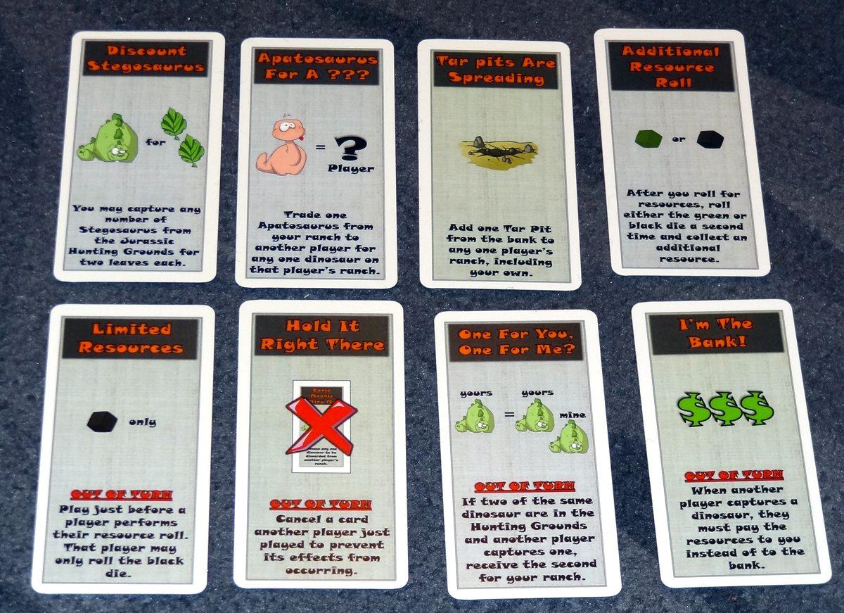 Dino Dude Ranch Cards